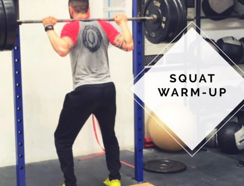 Barbell Squat Warm-Up