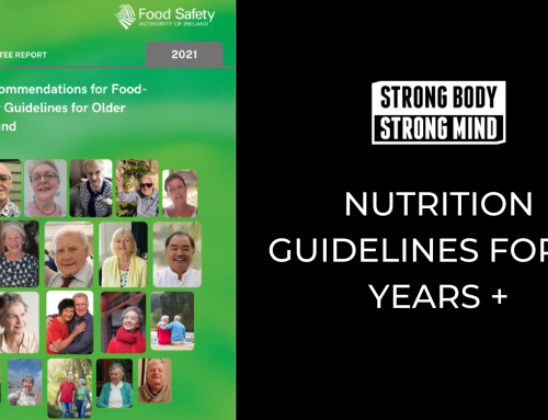 Nutrition Guidelines For Older Adults in Ireland